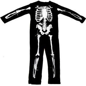 Skeleton Costume with Bugs | 8-10 Yrs | Halloween